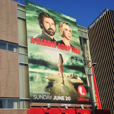 Kristen Wiig and Will Ferrell in A Deadly Adoption