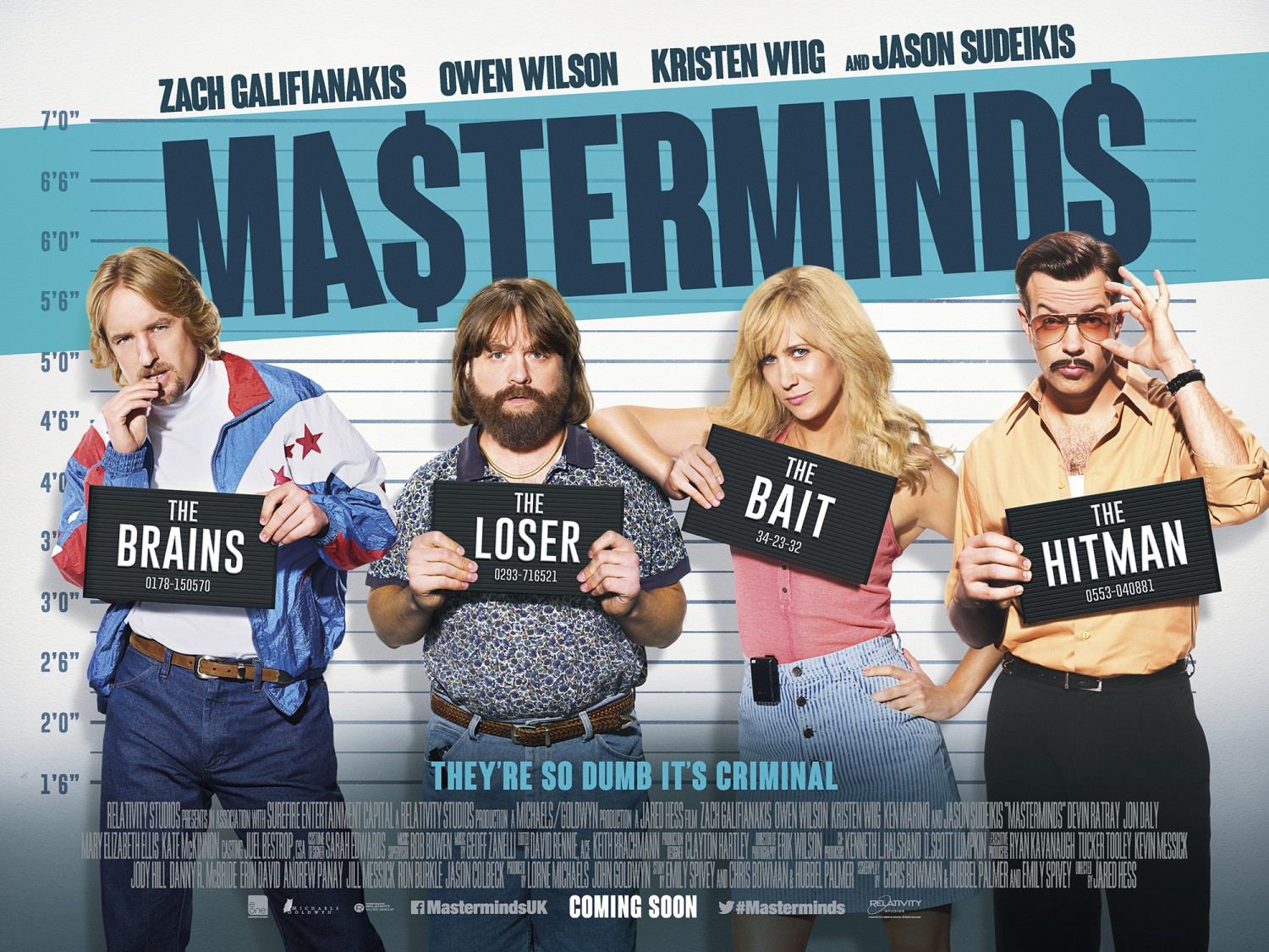 'Masterminds' release postponed indefinitely