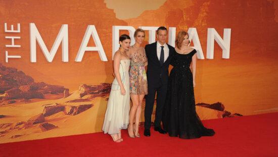 'The Martian' London Premiere Photos