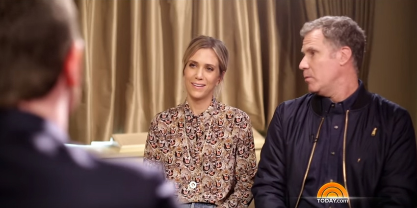 Kristen Wiig and Will Ferrell on the 'Today' Show