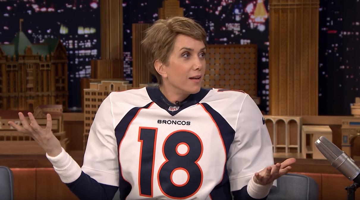 Video of Kristen Wiig on 'The Tonight Show'