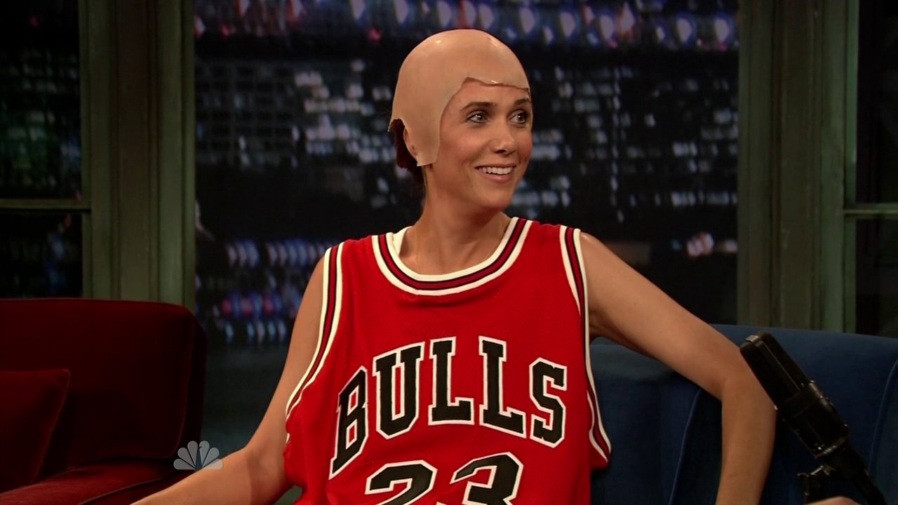 #TBT: Kristen as Michael Jordan on 'Late Night'