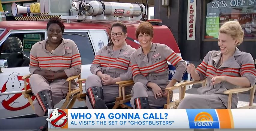 'Ghostbusters' Cast on the Today Show