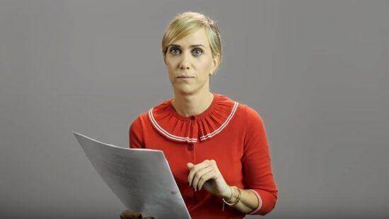 Kristen Wiig in W Magazine Videos