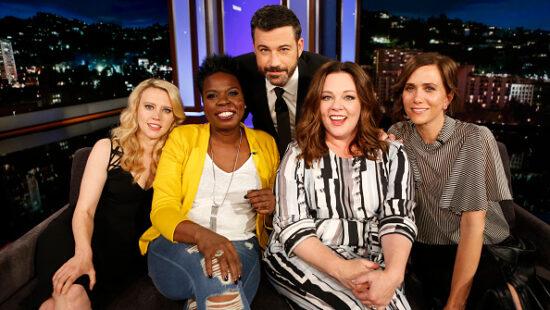 'Ghostbusters' Cast on Jimmy Kimmel Live!