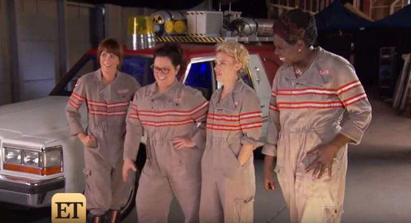 Entertainment Tonight's 'Ghostbusters' Set Visit