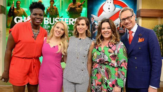 'Ghostbusters' Cast on Despierta America