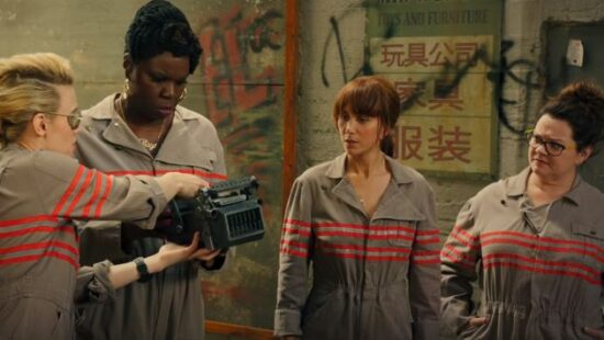 Five Video Clips from 'Ghostbusters'