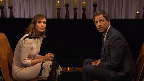 Kristen Wiig on 'Late Night with Seth Meyers'