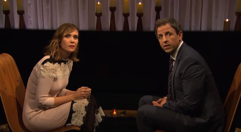 Kristen Wiig on 'Late Night with Seth Meyers'