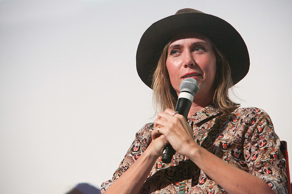 Kristen Wiig Attends 'Sausage Party' Event