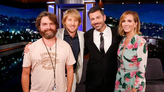 Kristen Wiig and 'Masterminds' co-stars on 'Jimmy Kimmel'