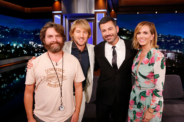 Kristen Wiig and 'Masterminds' co-stars on 'Jimmy Kimmel'