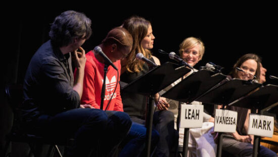 Pictures from the 'Juno' Live Read