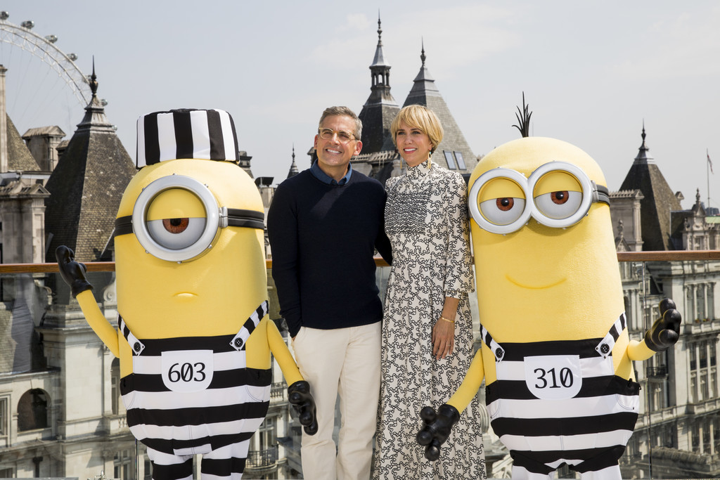 Kristen Wiig at the Despicable Me 3 London Photocall