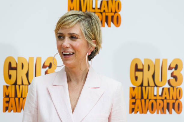 Kristen Wiig at the Madrid photocall for Despicable Me 3