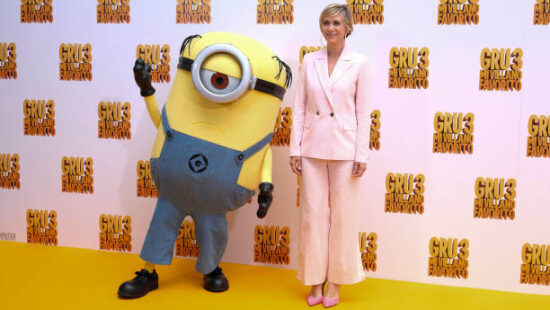 """Kristen Wiig Promotes """"Despicable Me 3"""" in Spain"""