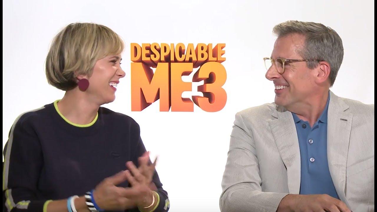 """""""Despicable Me 3"""" Press Junket Videos, Part One"""