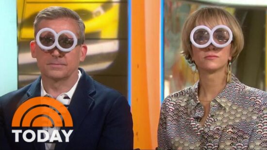 Kristen Wiig and Steve Carell on the Today Show