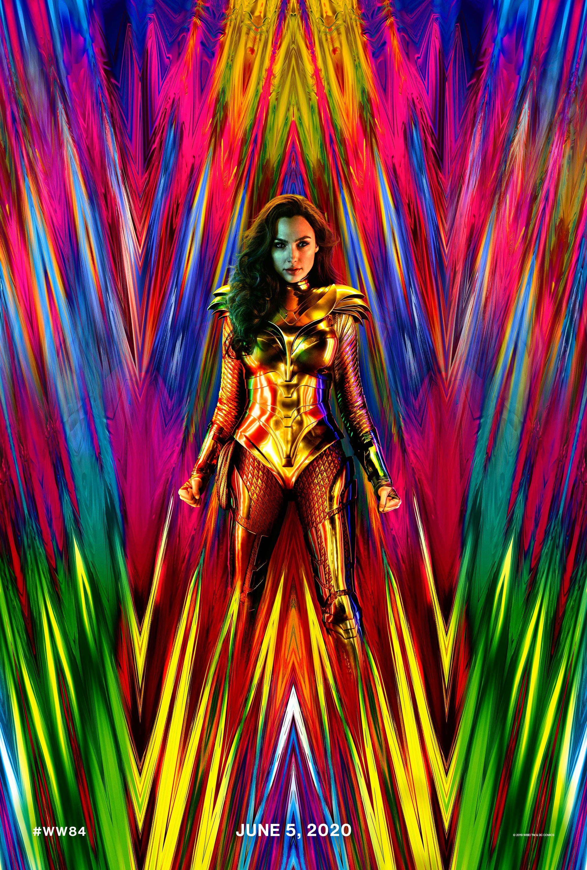 "New poster for ""Wonder Woman 1984"""