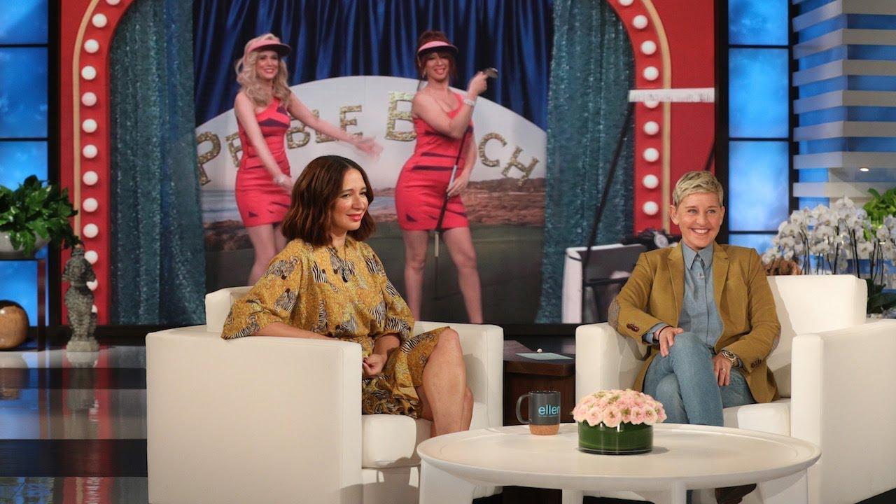 Maya Rudolph Talks About Kristen Wiig on Ellen