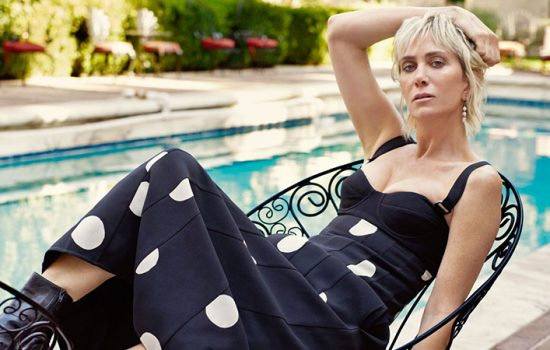 Kristen Wiig on the cover of Harper's Bazaar UK
